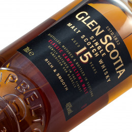 Glen Scotia 15 Years Old / 46% / 0,7 l