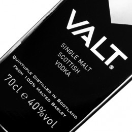VALT single malt scottish vodka / 40% / 0,7 l
