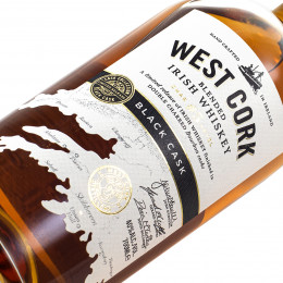 West Cork Black Cask / Blended Irish Whiskey / 40% / 0,7 l