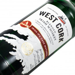 West Cork / IPA Cask Matured / Blended Irish Whiskey / 40% / 0,7 l