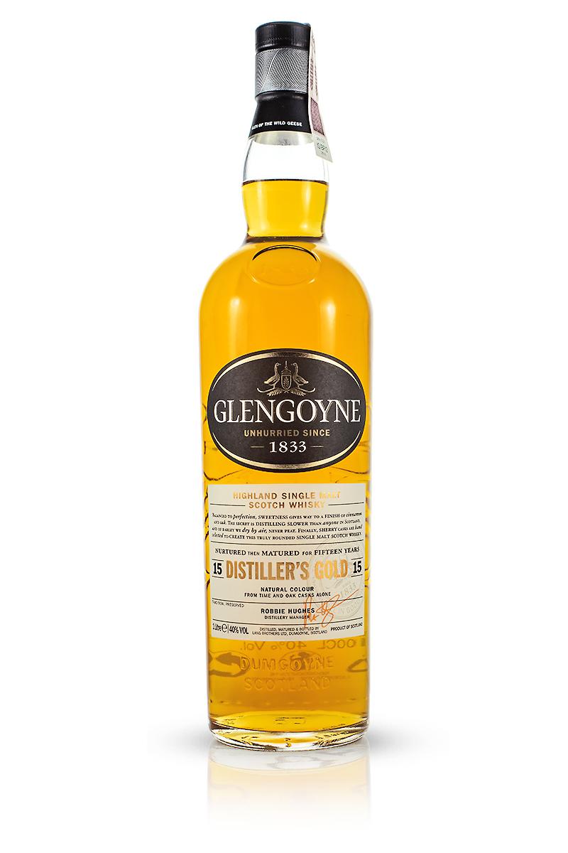Glengoyne 15 Years Old / Distillers Gold / 43% / 1,0 L